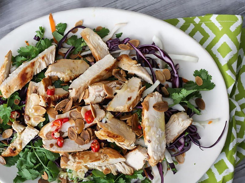 chicken keto salad