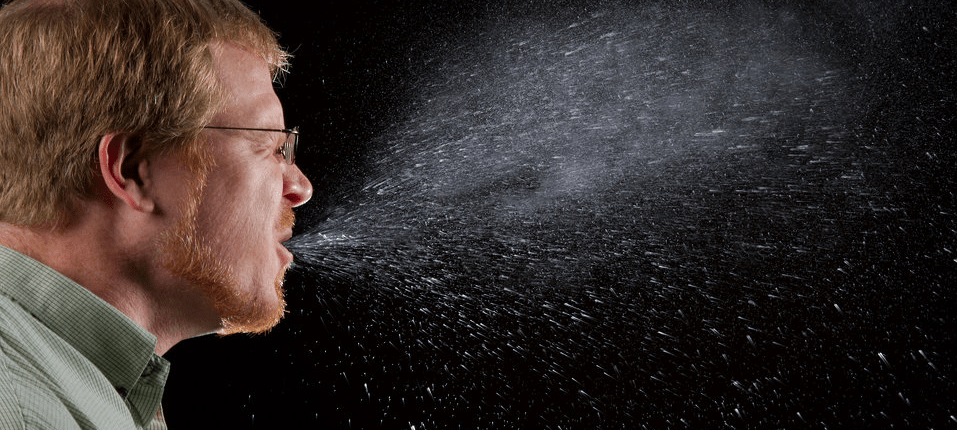 COVID-19 coronavirus sneezing