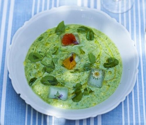 Green Gazpacho - National Country Cooking Month