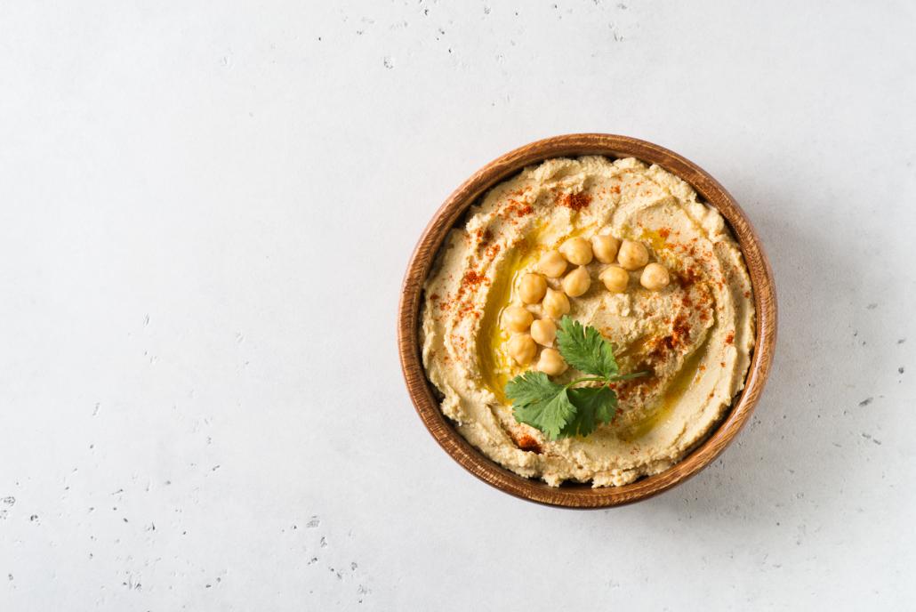 Hummus - 10 Healthy Late-Night Snacks