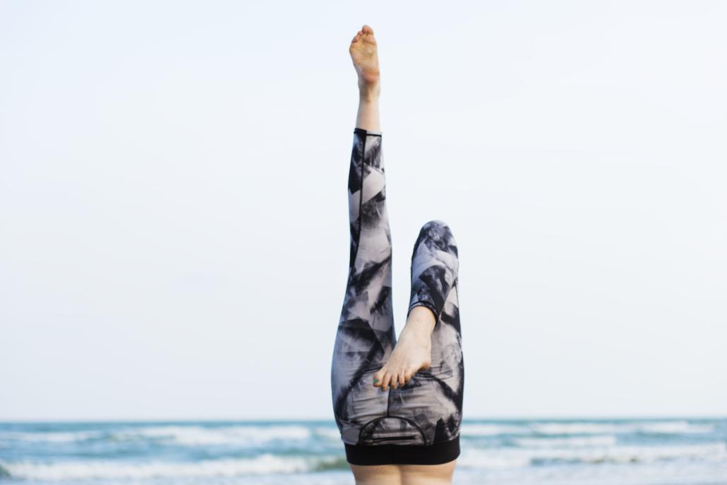 Yoga Exercise Stretching